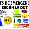 Kit de emergencia según DGT