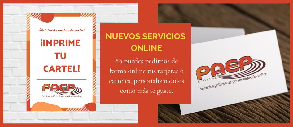 Nuevos Servicios Online